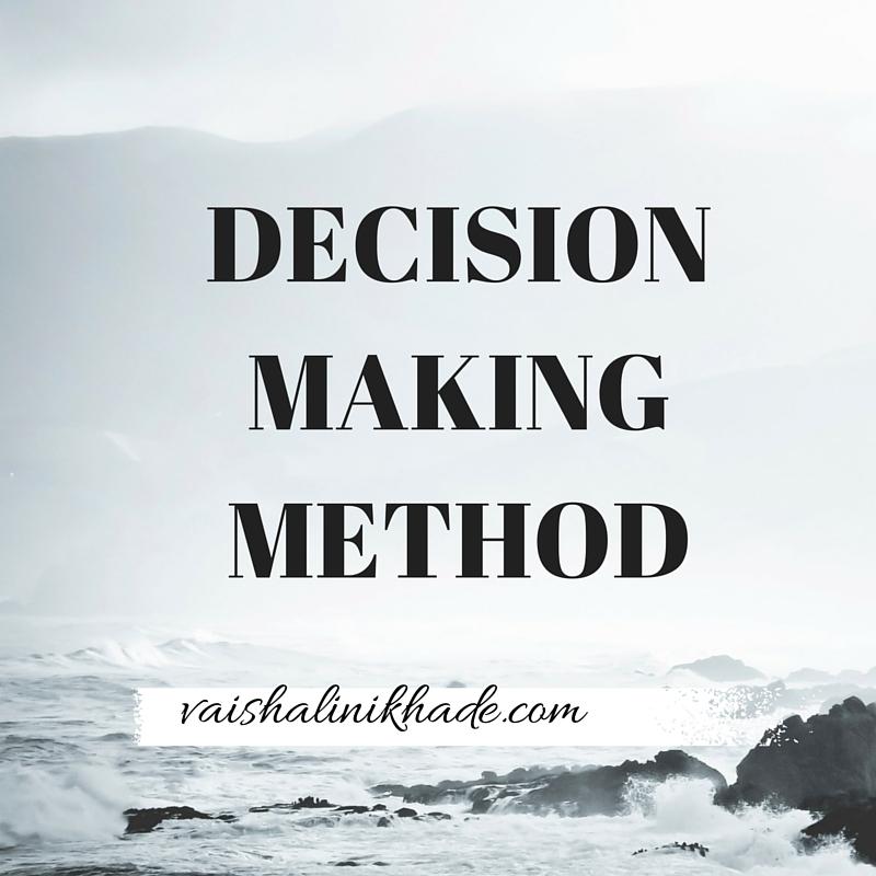 decision-making-method