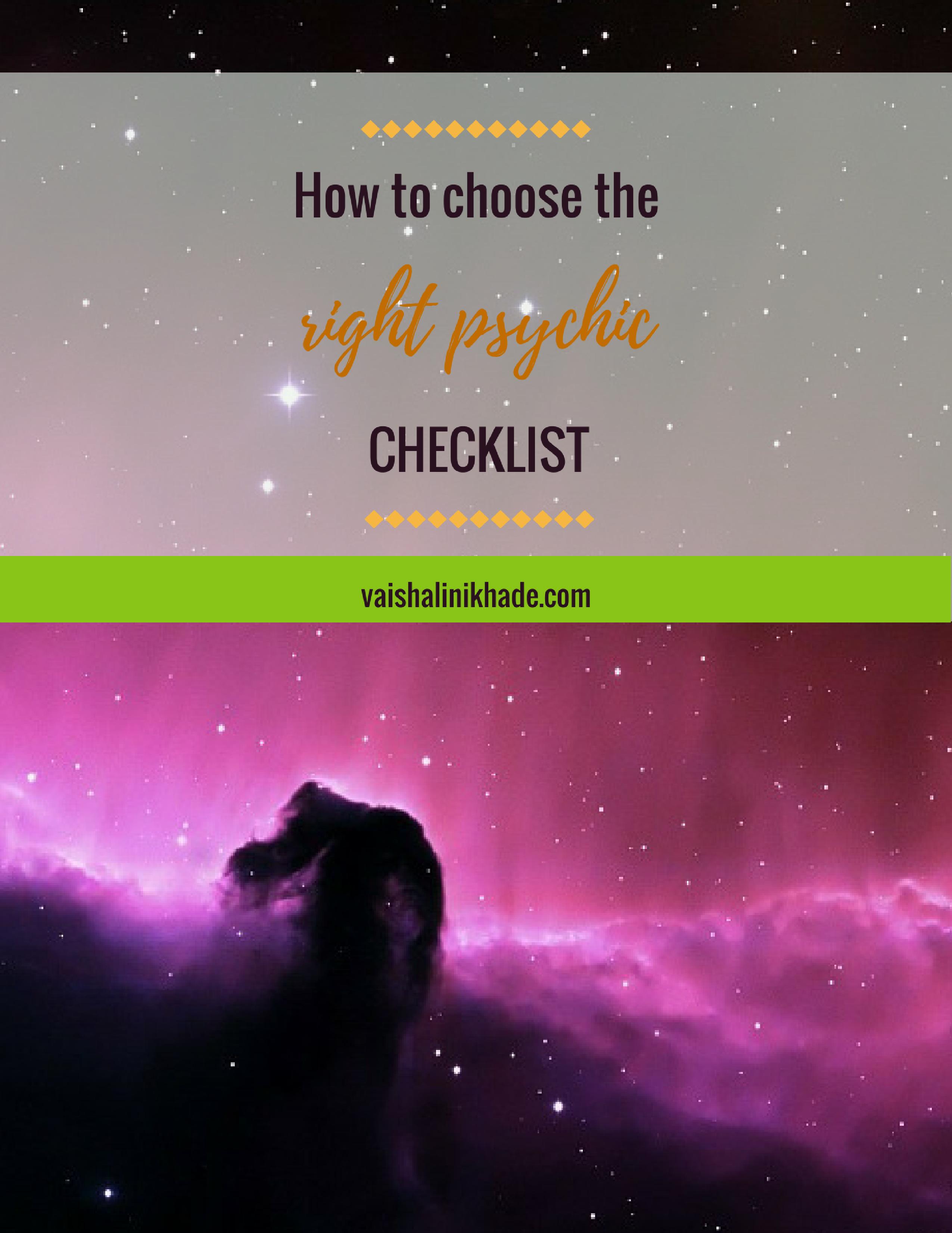 right-psychic-checklist